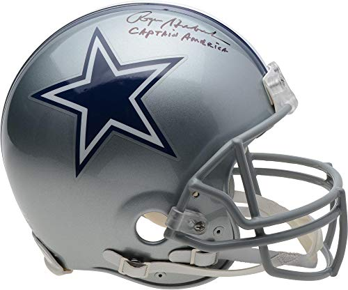 Roger Staubach Dallas Cowboys Autographed Riddell Authentic Pro-Line Helmet with