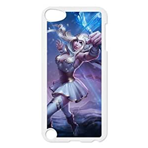 iPod Touch 5 Case White League of Legends Freljord Ashe EUA15987723 Harley Davidson Cell Phone Cases