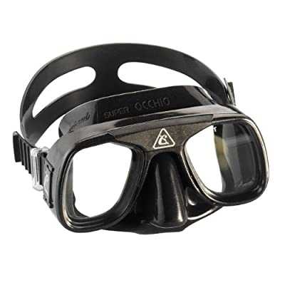 Cressi Scuba Diving Free Diving Mask Low Volume (Made in Italy)
