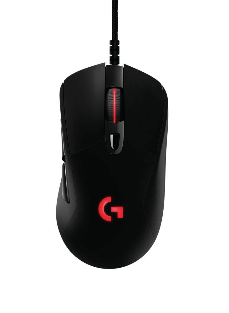 0abdf7daef1 Amazon.com: Logitech G403 Prodigy RGB Gaming Mouse – 16.8 Million Color  Backlighting, 6 Programmable Buttons, Onboard Memory, Up to 12,000 DPI:  Computers & ...