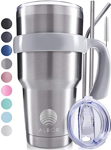 ALBOR 30 Oz Stainless Steel Tumbler 30 Oz Insulated Tumbler
