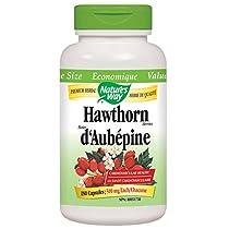 Nature's Way Hawthorn Berries Health Supplement, 180 Count