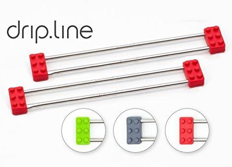 2x Sanni Shoo - drip.line 3 in 1 ROT - multifunktionaler Abtropfer ...