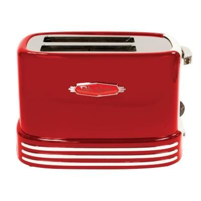 Retro Series '50s Style 2-Slice Toaster in Red 41I8lylYl1L