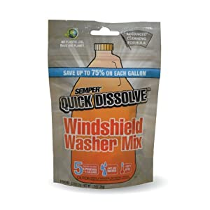 CAF Outdoor Cleaning SEMPER Quick Dissolve Windshield Cleaner Mix - 5 Pack