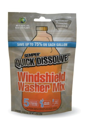 (CAF Outdoor Cleaning SEMPER Quick Dissolve Windshield Cleaner Mix - 5 Pack)