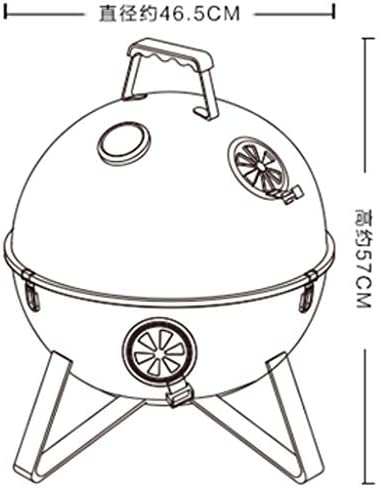 MH Barbecue Grill - Grand barbecue outil pour barbecue @