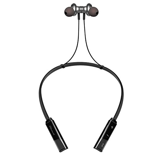 Phevos V4.2 Bluetooth Headphones Wireless Neckband Headset Stereo Sweatproof Noise Cancelling Earbuds w/Mic, 15 Hours Music Time(Y10) PHEVOS INC