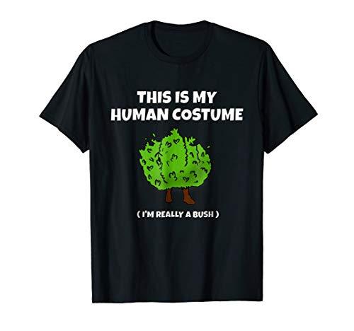 Bush Life Camper T-Shirt | This Is My Human Costume Bush