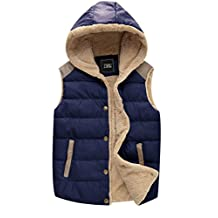 ZSHOW Women's Outwear Casual Hooded Vest Slim Fleeces Jacket