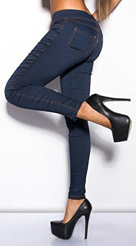In-Stylefashion - Pantalón - para mujer Jeansblau