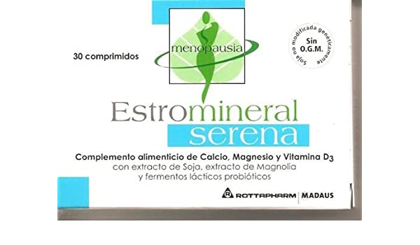 Amazon.com : Estromineral Serena Integratore 60 Compresse Menopausa : Beauty