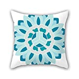 PILLO Bohemian throw pillow covers 16 x 16 inches / 40 by 40 cm best choice for family,divan,wife,home theater,saloon,bedroom with 2 sides