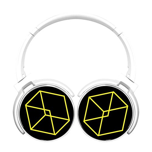 Asioli New Style EXO Bluetooth Headphones,HIFI Stereo Wireless Headset White -