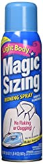 Magic Sizing Fabric Finish Fresh Scent Two 20 Ounce Containers Included, 2 pack
