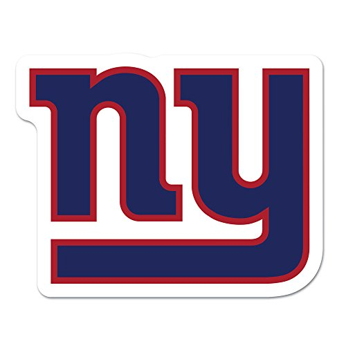 - WinCraft NFL New York Giants Logo on the GoGo Decals, Team Color, One Size