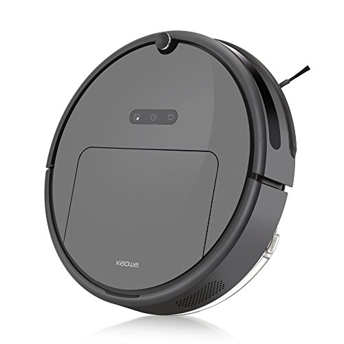 Roborock E25 Robot Vacuum Cleaner Sweeping and Mopping Robotic Vacuum with App Control, 1800Pa Strong Suction for Thin Carpet, Pet Hair and All Types of Floor (Dark Grey)