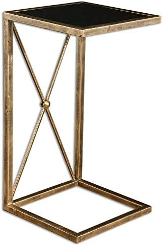 Uttermost Zafina Gold Side Table Model-25014