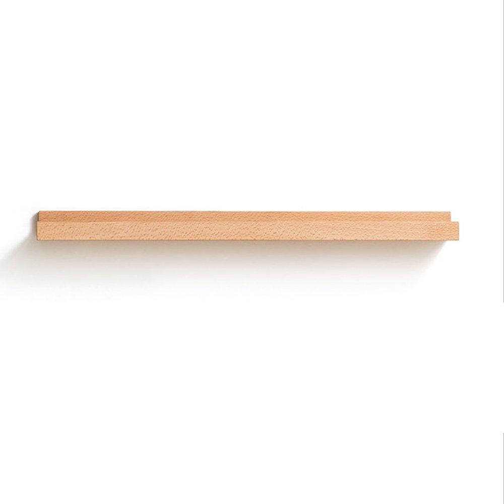 A+ 木製の壁の棚を構築する壁の棚クリエイティブバルクヘッドのブラケット壁のマウントフローティングシェルフ(DIYアセンブリ&負荷10KG) ## (サイズ さいず : 40+60+80+100CM) B07LDR59VC  40+60+80+100CM