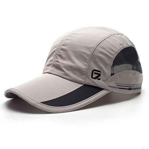 GADIEMKENSD Quick Dry Sports Hat Lightweight Breathable Soft Outdoor Run Cap  (Classic upgrade 09aef56cf09