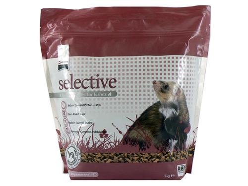 Supreme Petfoods Science Selective nutritionally complete Ferret Food 2 kg x 2pack by Supreme