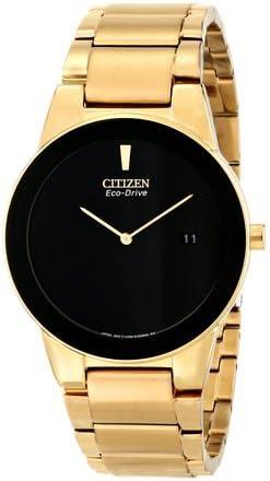 シチズン Citizen Men's AU1062-56E Axiom Analog Display Japanese Quartz Gold Watch 男性 メンズ 腕時計 【並行輸入品】