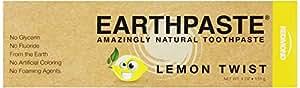 Redmond Earthpaste, Natural Non-Flouride Toothpaste, Lemon Twist, 4 Ounce