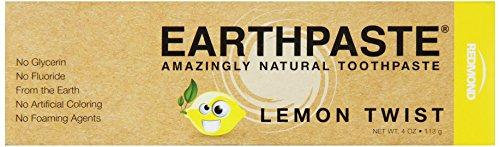 Redmond Earthpaste dentifrice, Lemon Twist, 4 once