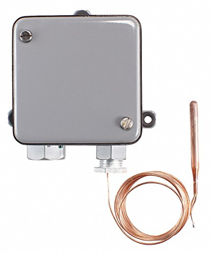 Johnson Controls A19ANC-1C Line Volt Mechanical Thermostat, 120 to 277 VAC from Johnson Controls