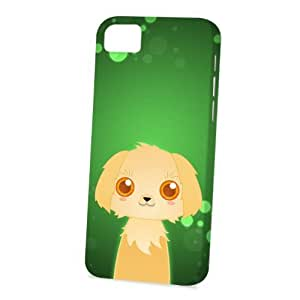Case FunDiy For Iphone 5/5s Case Cover Vogue Version - 3D Full Wrap - Golden Retriever by DevilleART