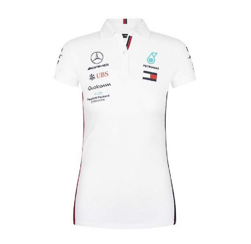 Mercedes-AMG Petronas Motorsport 2019 F1 Womens Team Polo Shirt White