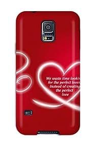 Benailey Case Cover For Galaxy S5 - Retailer Packaging Love Protective Case