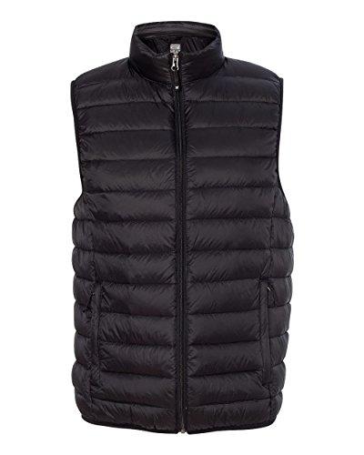 Weatherproof Mens 32 Degrees Packable Down Vest 16700 -Black - Mens Vest Down