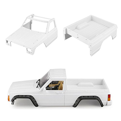 Ballylelly AX-313B 313mm Pick-up Body Kit Body Shell Bricolage Kit Body pour Axial SCX10 RC4WD RC Crawler b46ae4