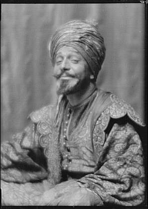 HistoricalFindings Photo: Skinner,Otis,Kismet,actors,costumes,photographs,A Genthe,1912 1