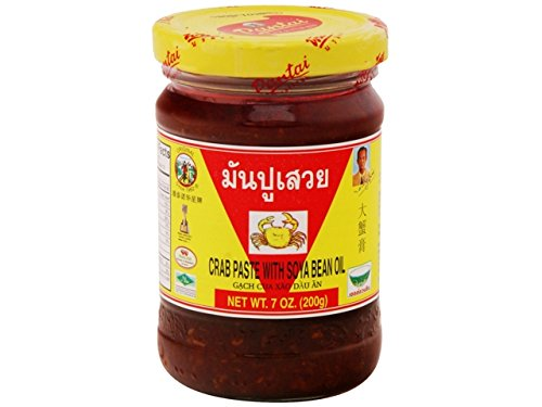 Crab Paste with Soya Bean Oil (7oz x 2 jars)