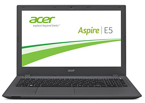 Acer Aspire E 15 (E5-573-58YM) 39,6 cm (15,6 Zoll Full HD) Notebook (Intel Core i5-4210U, 8GB RAM, 256GB SSD, Intel HD Graphics 4400, Win 10 Home) schwarz