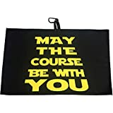 Giggle Golf May The Course Be With You Waffle Golf Towel