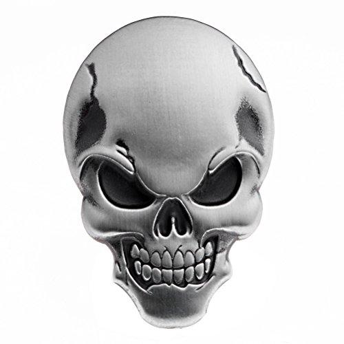 Chrome Skull Motorcycle Accessories: Amazon.com