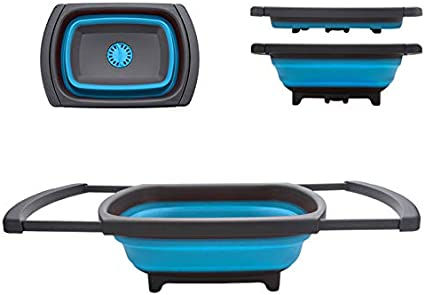 Amazon.com: Homeviro Colador de cocina plegable – Colador de ...
