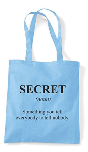 Dictionary Blue In Shopper Not Alternative Bag Secret Funny Sky The Definition Tote xPqUTYwO