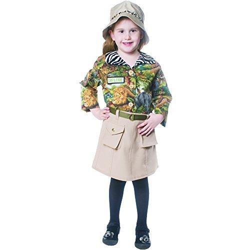 forma única Cute Cute Cute Safari Girl Costume By Dress Up America - Talla Toddler 4 by Dress Up America  Esperando por ti