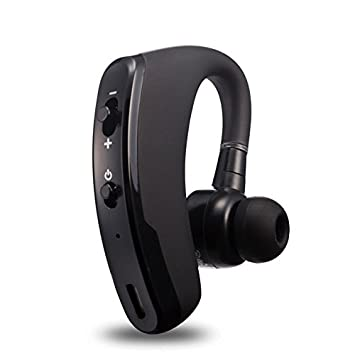 BLUEHUAF Wireless Sports Auriculares Bluetooth 4.1 Auriculares Ear Mount Stereo Stereo Drive Universal, Cool Black: Amazon.es: Electrónica