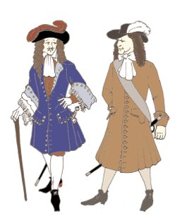 1680s to Early 1700s Frock Coat / Pirate Coat Pattern -