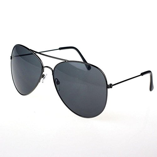 Flank Hot Classic Metal Designer Toad Sunglasses, Fashion Aviator Sunglasses (A)