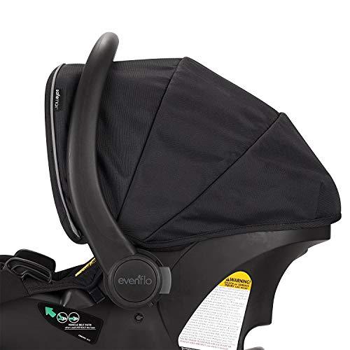 41I8v2CAygL - Pivot Xpand Modular Travel System With SafeMax Infant Car Seat, Stallion Black