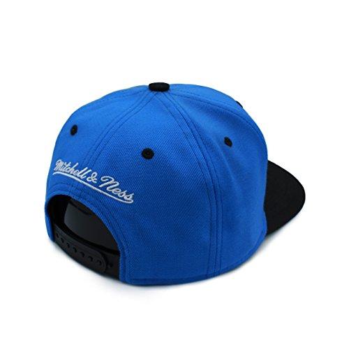 Negro Ness Talla béisbol amp; Azul Mitchell Gorra de Hombre única Negro para q6Fw58v5