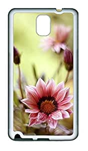 Samsung Note 3 Case Beautiful Flowers Cute TPU Custom Samsung Note 3 Case Cover White doudou's case