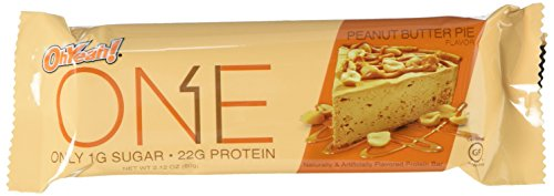 Price comparison product image OhYeah! Nutrition One Bar Peanut Butter Pie,  2.12 Ounce,  12 Count