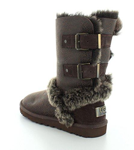 5 M Boot Twinface Chocolate Skylah UGG Women's B 6xqPXwRn